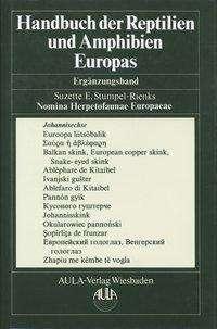 Handbuch der Reptilien und Amphibien - Gesamtregister, Buch