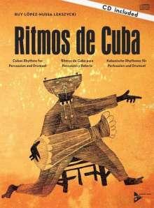Ruy López-Nussa Lekszycki: Ritmos de Cuba. Lehrbuch mit CD, Noten