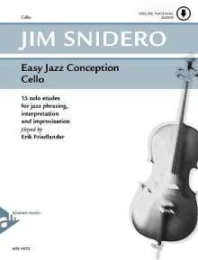 Jim Snidero: Easy Jazz Conception Cello, Buch