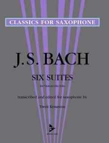 Johann Sebastian Bach: 6 Suites for Violoncello Solo, Noten