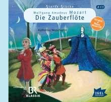 Starke Stücke für Kinder: Wolfgang Amadeus Mozart, 2 CDs