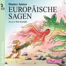 Europäische Sagen, 2 CDs