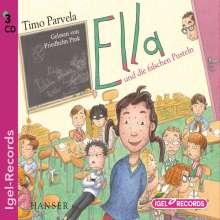Timo Parvela: Ella und die falschen Pusteln, 3 CDs