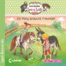 Julia Boehme: Leo & Lolli - Ein Pony braucht Freunde, CD