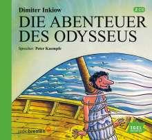 Die Abenteuer des Odysseus. 2 CDs, 2 CDs