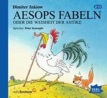 Aesops Fabeln oder Die Weisheit der Antike. 2 CDs, 2 CDs
