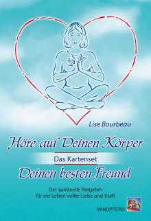 Lise Bourbeau: Höre auf Deinen Körper, Deinen besten Freund (Das Kartenset), Buch