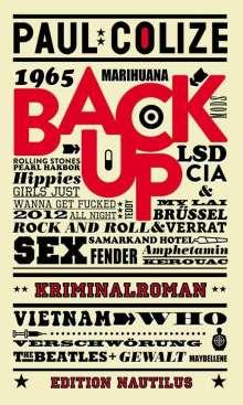 Paul Colize: Back up, Buch