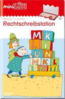 Heiner Müller: miniLÜK. Rechtschreibstation 2. Klasse, Buch
