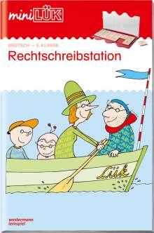 Heiner Müller: miniLÜK. Rechtschreibstation 3. Klasse, Buch