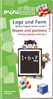 miniLÜK. Spielend logisch denken lernen 2. Lage und Form, Buch