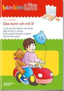 LÜK Bambino. Das kann ich mit 3!, Buch