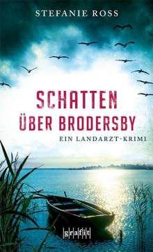 Stefanie Ross: Schatten über Brodersby, Buch