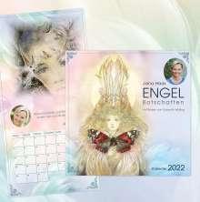 Jana Haas: Engel-Botschaften Wandkalender 2022, Kalender