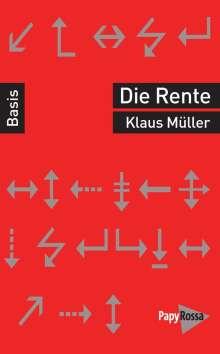 Klaus Müller: Rente, Buch
