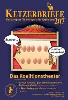 Fritz Erik Hoevels: Das Koalitionstheater, Buch