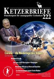 Fritz Erik Hoevels: Corona - die Niederlage des Volkes, Buch