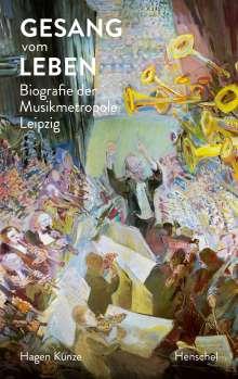 Hagen Kunze: Gesang vom Leben, Buch