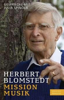 Herbert Blomstedt: Mission Musik, Buch