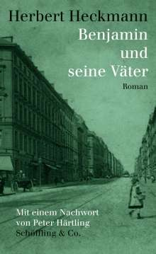 Herbert Heckmann: Benjamin und seine Väter, Buch