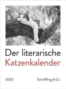 Der literarische Katzenkalender 2020, Diverse