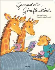 Andreas Német: Gwendolin Giraffenkind, Buch