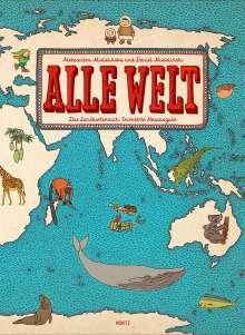 Aleksandra Mizielinska: Alle Welt, Buch