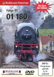 01 180 - Schnellzugstar der jungen DB - Die Stars der Schiene Folge 91, DVD