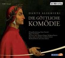 Dante Alighieri: Die göttliche Komödie. 5 CDs, CD