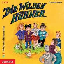 Cornelia Funke: Die Wilden Hühner, 3 CDs