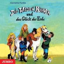 Cornelia Funke: Die Wilden Hühner und das Glück der Erde, 3 CDs