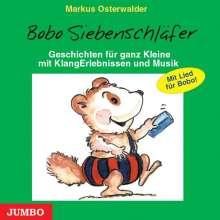 Markus Osterwalder: Bobo Siebenschläfer. CD, CD