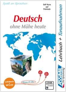 ASSiMiL Jezyk Niemiecki latwo i przyjemnie - Deutschkurs in polnischer Sprache - MP3-Sprachkurs - Niveau A1-B2, Buch