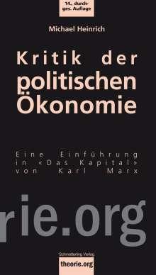 Michael Heinrich: Kritik der politischen Ökonomie, Buch