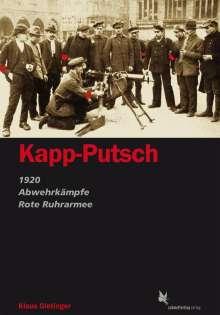 Klaus Gietinger: Kapp-Putsch, Buch