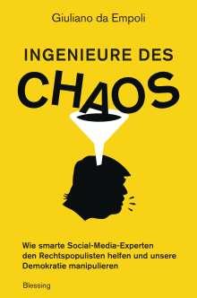 Giuliano da Empoli: Ingenieure des Chaos, Buch