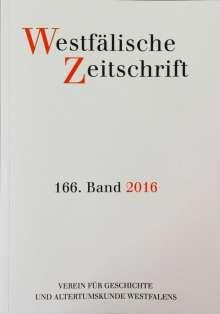Westfälische Zeitschrift 166, Band 2016, Buch