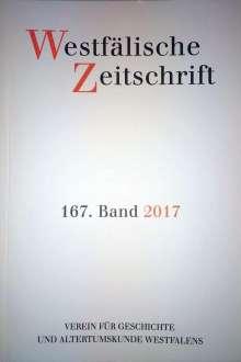 Westfälische Zeitschrift 167, Band 2017, Buch
