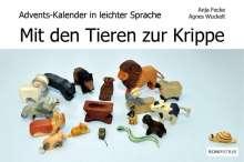 Anja Fecke: Mit den Tieren zur Krippe, Buch
