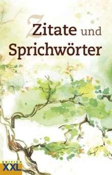 Zitate und Sprichwörter, Buch