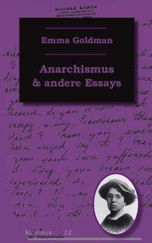 Emma Goldman: Anarchismus und andere Essays, Buch