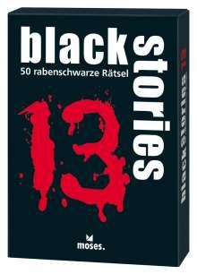 Holger Bösch: black stories 13, Diverse
