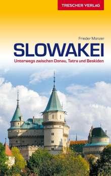 Frieder Monzer: Reiseführer Slowakei, Buch