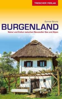 Gunnar Strunz: Reiseführer Burgenland, Buch