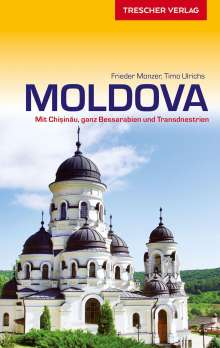 Frieder Monzer: Reiseführer Moldova, Buch