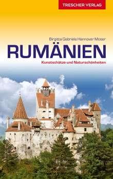 Birgitta Gabriela Hannover Moser: Reiseführer Rumänien, Buch