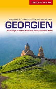 Giorgi Kvastiani: Reiseführer Georgien, Buch