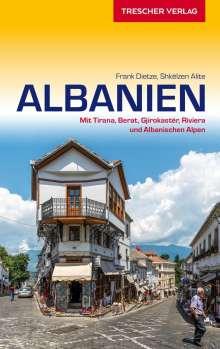 Frank Dietze: Reiseführer Albanien, Buch