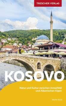 Martin Bock: Reiseführer Kosovo, Buch