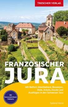Sabine Herre: Reiseführer Französischer Jura, Buch